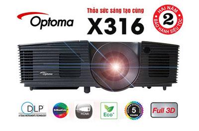Optoma ra mắt bộ đôi máy chiếu giáo dục S316 và X316 - 1
