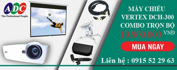 Sở hữu máy chiếu Vertex DCH 300  trọn bộ với giá ưu đãi